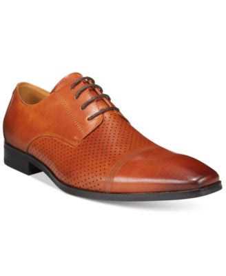 Bar III Men's Dax Cap Toe Derby, Only at Vogily