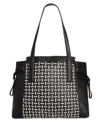French Connection Nadia Woven Tote