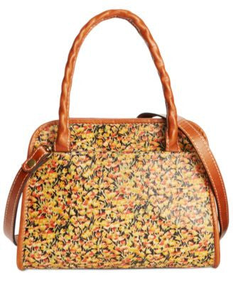 Patricia Nash Print Paris Satchel