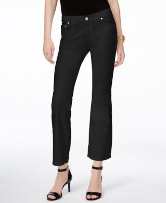 MICHAEL Michael Kors Izzy Cropped Flare-Leg Jeans