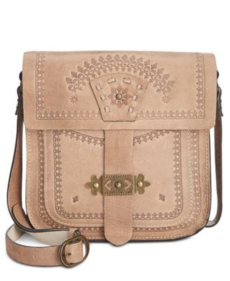 Patricia Nash Tursi Flap North South Crossbody Bag