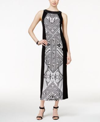 Style & Co. Column Maxi Dress, Only at Vogily