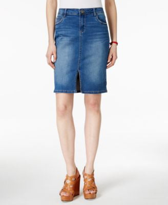 Kut from the Kloth Denim Pencil Skirt