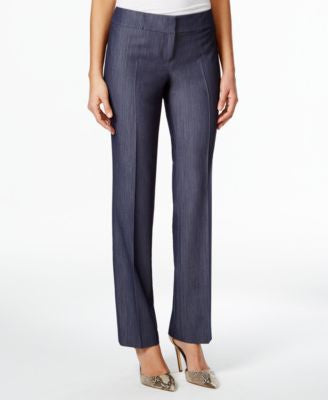 Nine West Wide-Leg Denim Pants