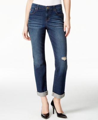 Style & Co. Ripped Boyfriend Jeans, Only at Vogily