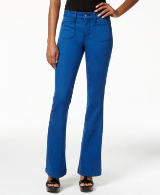 NYDJ Farrah Fort Wayne Wash Flared Jeans