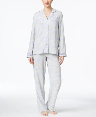 Charter Club Woven Pajama Set, Only at Vogily