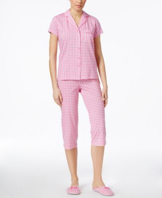 Charter Club Pajama Set with FREE Slippers, Only at Vogily