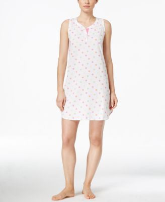 Charter Club Sleeveless Printed Chemise