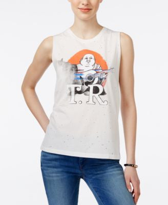 True Religion Graphic Muscle Tank Top
