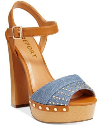 Report Meeshka Wooden Platform Sandals