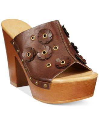 Dolce by Mojo Moxy Janis Wooden Platform Mules