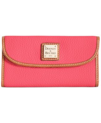 Dooney & Bourke Pebble Continental Clutch