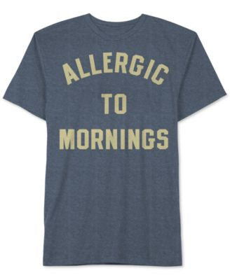 Jem Men's Allergic To Mornings Graphic-Print T-Shirt