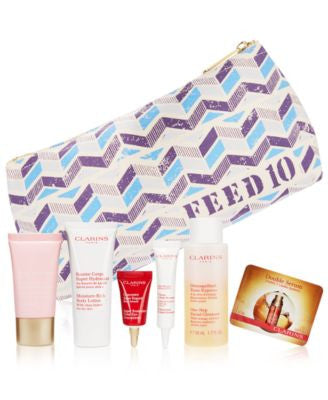 Receive a FREE 7-Pc. Gift with $99 Clarins purchase