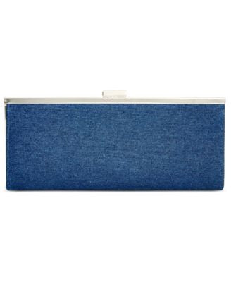 Style & Co. Carolyn Denim Clutch, Only at Vogily
