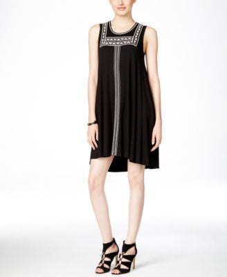 Karen Kane Embroidered Trapeze Dress