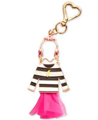 Betsey Johnson Little Dress Bag Charm
