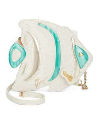Betsey Johnson Fish Crossbody