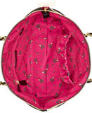 Betsey Johnson Quilted Rose Tote