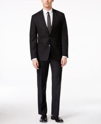Ryan Seacrest Distinction Men's Slim-Fit Black Suit Separates, Only at Vogily