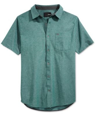 Hurley Men's Stanton Short-Sleeve Shirt
