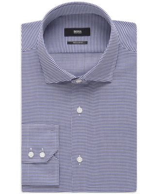 BOSS Oxford Regular-Fit Dress Shirt