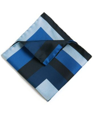 BOSS Printed Italian Silk Pocket Square
