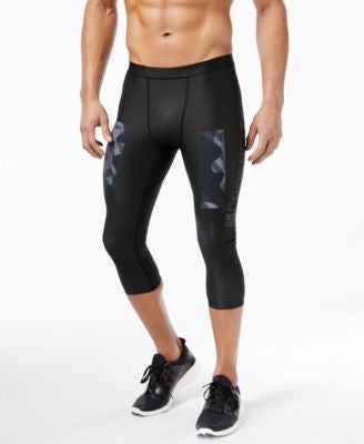 Reebok Men's CrossFit PWR6 Compression Cropped Leggings