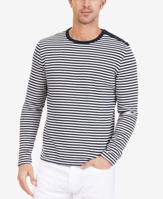 Nautica Men's Slim Fit Striped Sweater