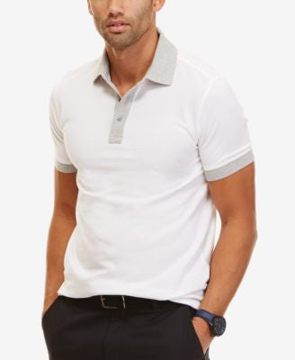 Nautica Men's Slim Fit Contrast Polo