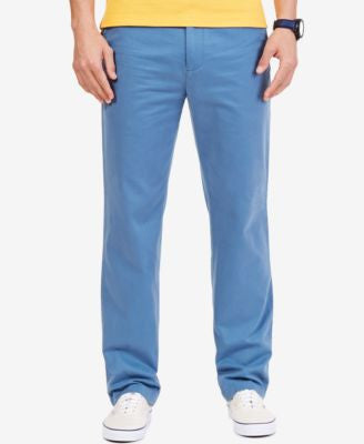 Nautica Men's Classic Fit Flat Front Deck Pants