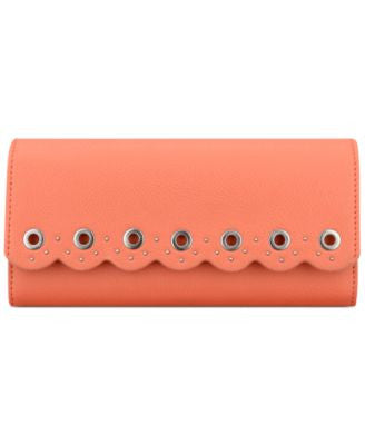 Nine West Scallop Continental Wallet