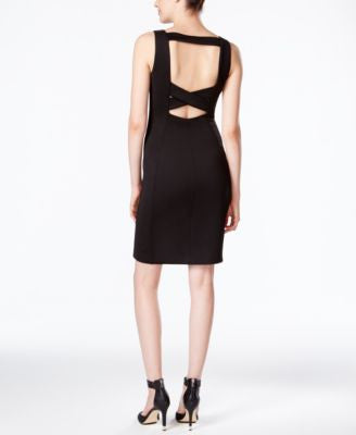 Calvin Klein Cutout-Back Sheath Dress