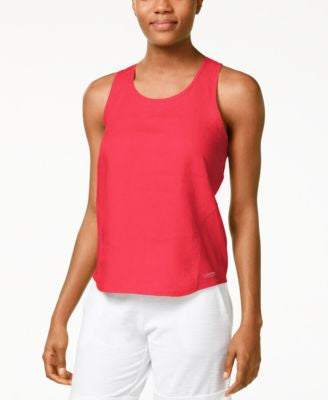 Cavlin Klein Performance Linen Twist-Back Tank Top
