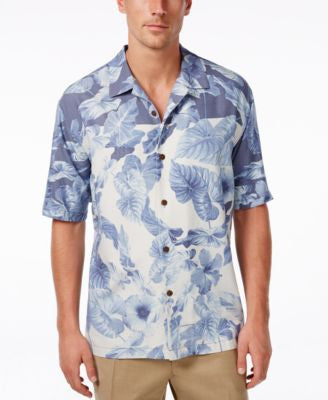 Tommy Bahama Men's Photo-Bloomed Aloha Shirt