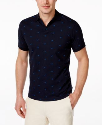 Barbour Men's Spittal Pheasant-Print Polo