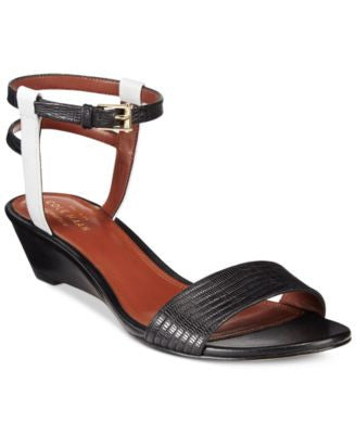 Cole Haan Ayana Two-Piece Wedge Sandals