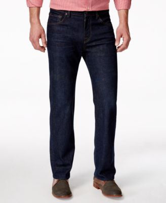 7 For All Mankind Men's Austyn Relaxed-Straight-Fit Atlantic Jeans