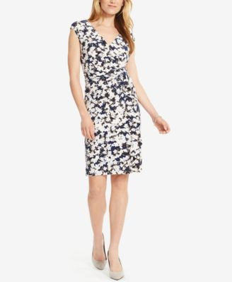 American Living Floral-Print Jersey Dress