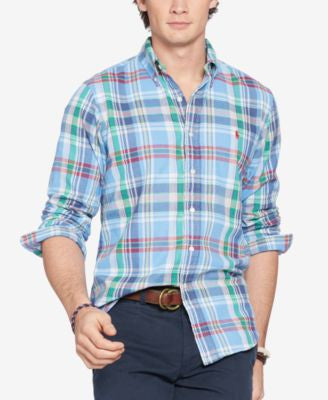 Polo Ralph Lauren Men's Double-Faced Chambray Shirt