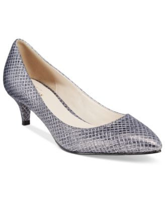 Cole Haan Juliana 45 Kitten Heel Pointed-Toe Pumps