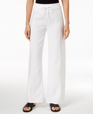 Eileen Fisher Pull-On Wide-Leg Pants