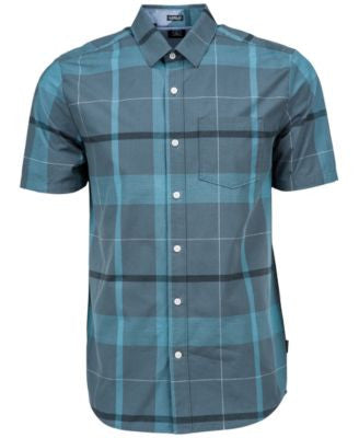 Volcom Men's Fullerton Plaid Short-Sleeve Shirt