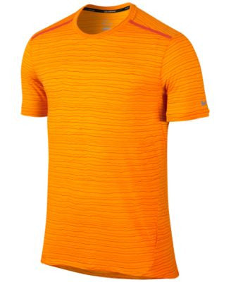 Nike Men's Dri-FIT Cool Tailwind Printed Running T-Shirt