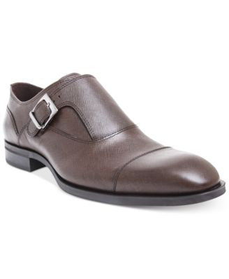 Donald Pliner Men's Sergio Textured Single Monk Shoe