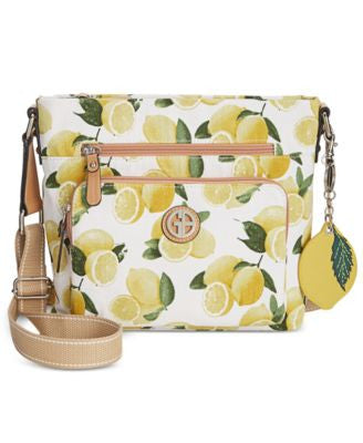 Giani Bernini Canvas Fruit Small Crossbody, Only at Vogily