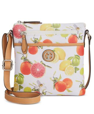 Giani Bernini Saffiano Fruit Small Crossbody, Only at Vogily