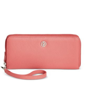 Giani Bernini Softy Slim Zip Around Wallet, Only at Vogily