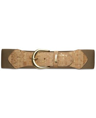 Lauren Ralph Lauren Stretch Cork Belt